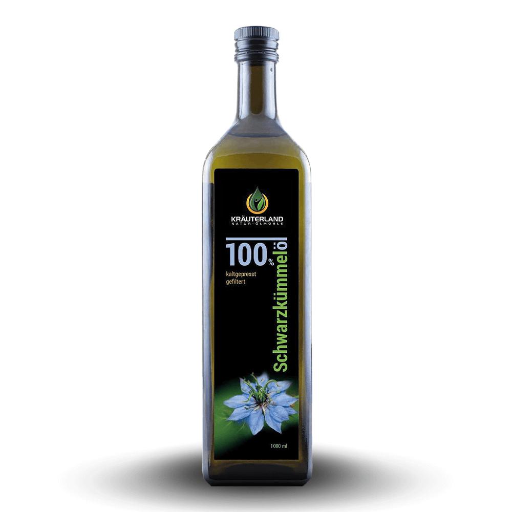 100% olej z čiernej rasce – filtrovaný (1 L)
