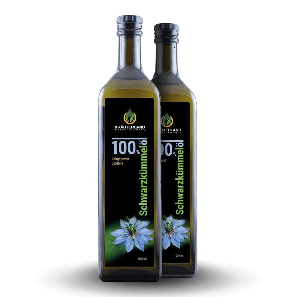 100% olej z čiernej rasce – filtrovaný (2 L)