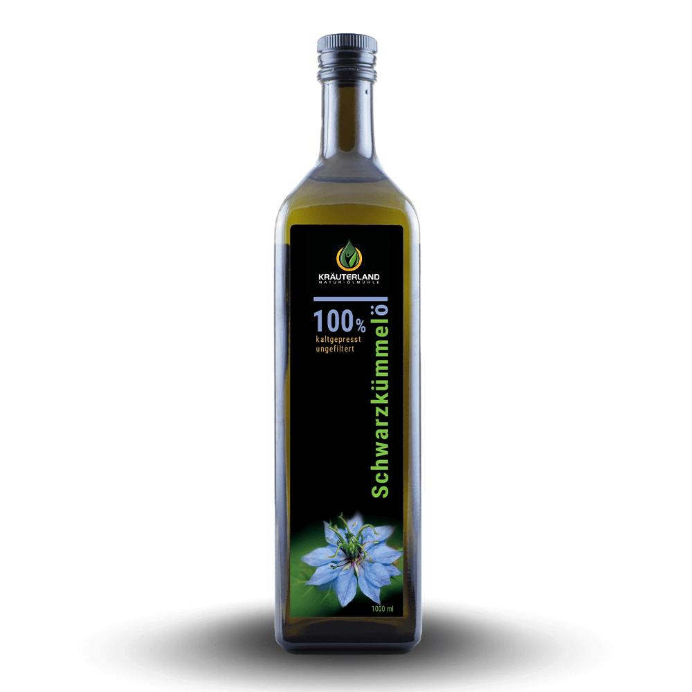 100% olej z čiernej rasce – nefiltrovaný (1 L)