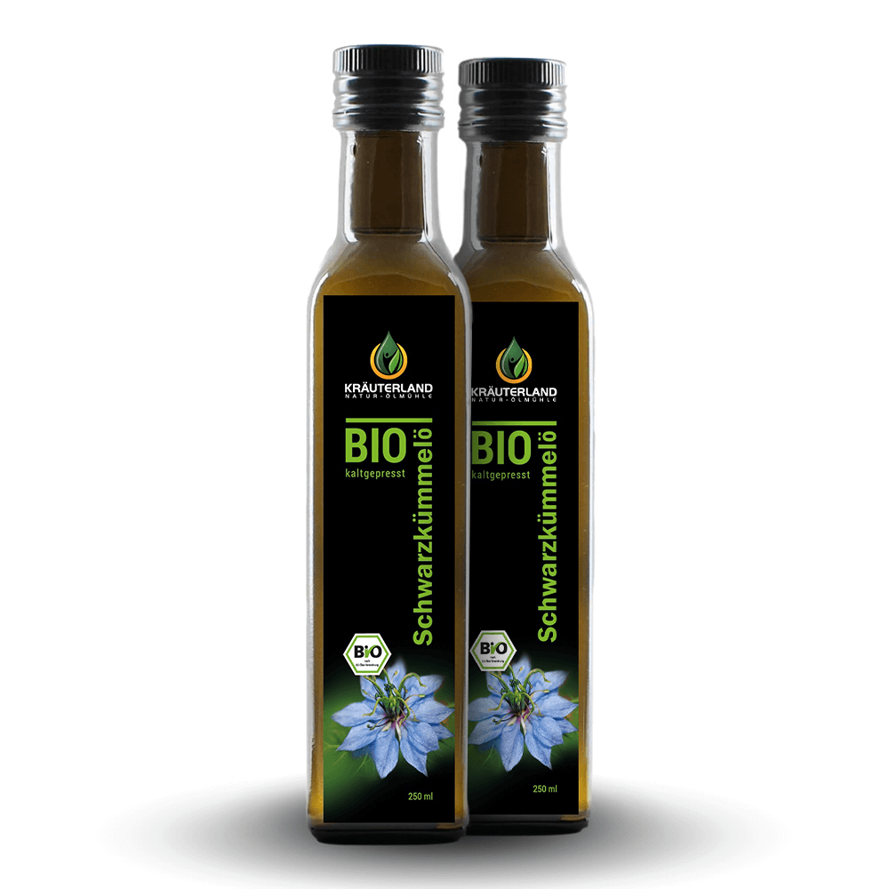 BIO olej z čiernej rasce (500 ml)