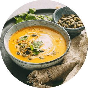 Jednoduchá hokkaido tekvicová polievka