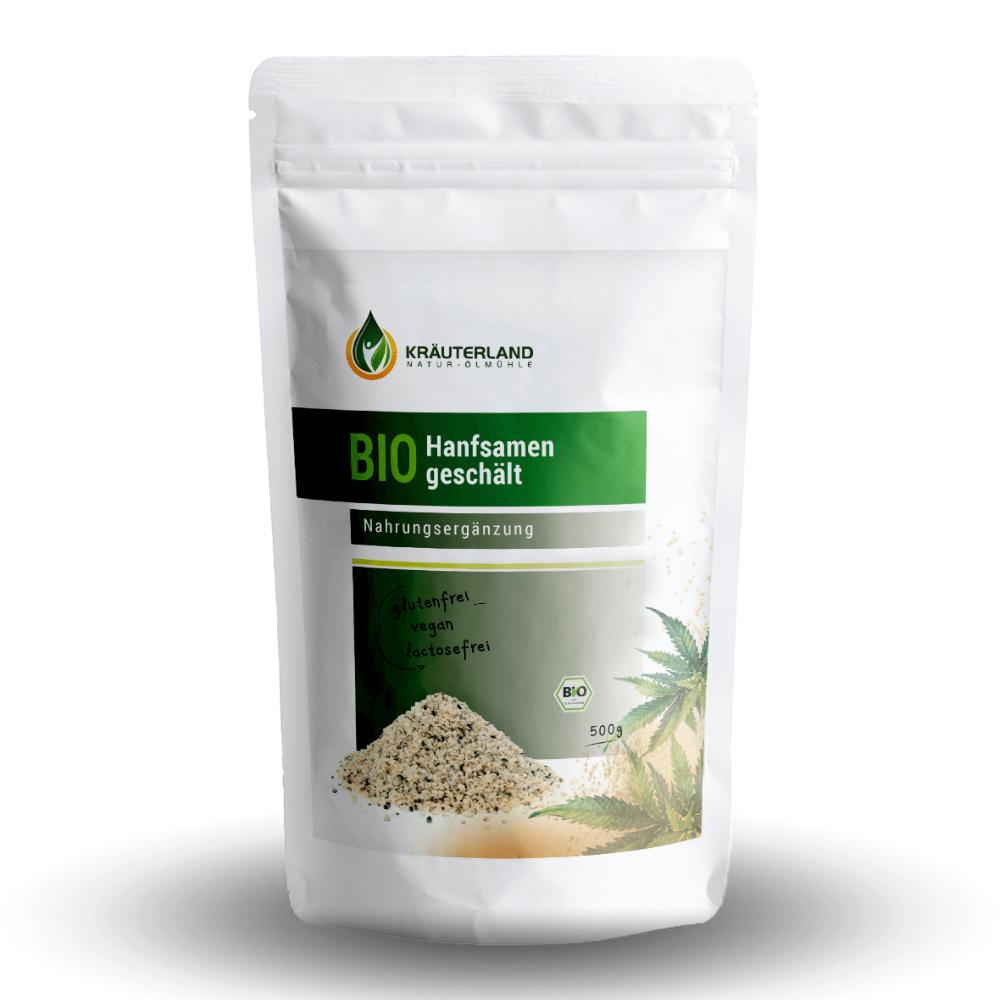 BIO konopné semienka (500 g)