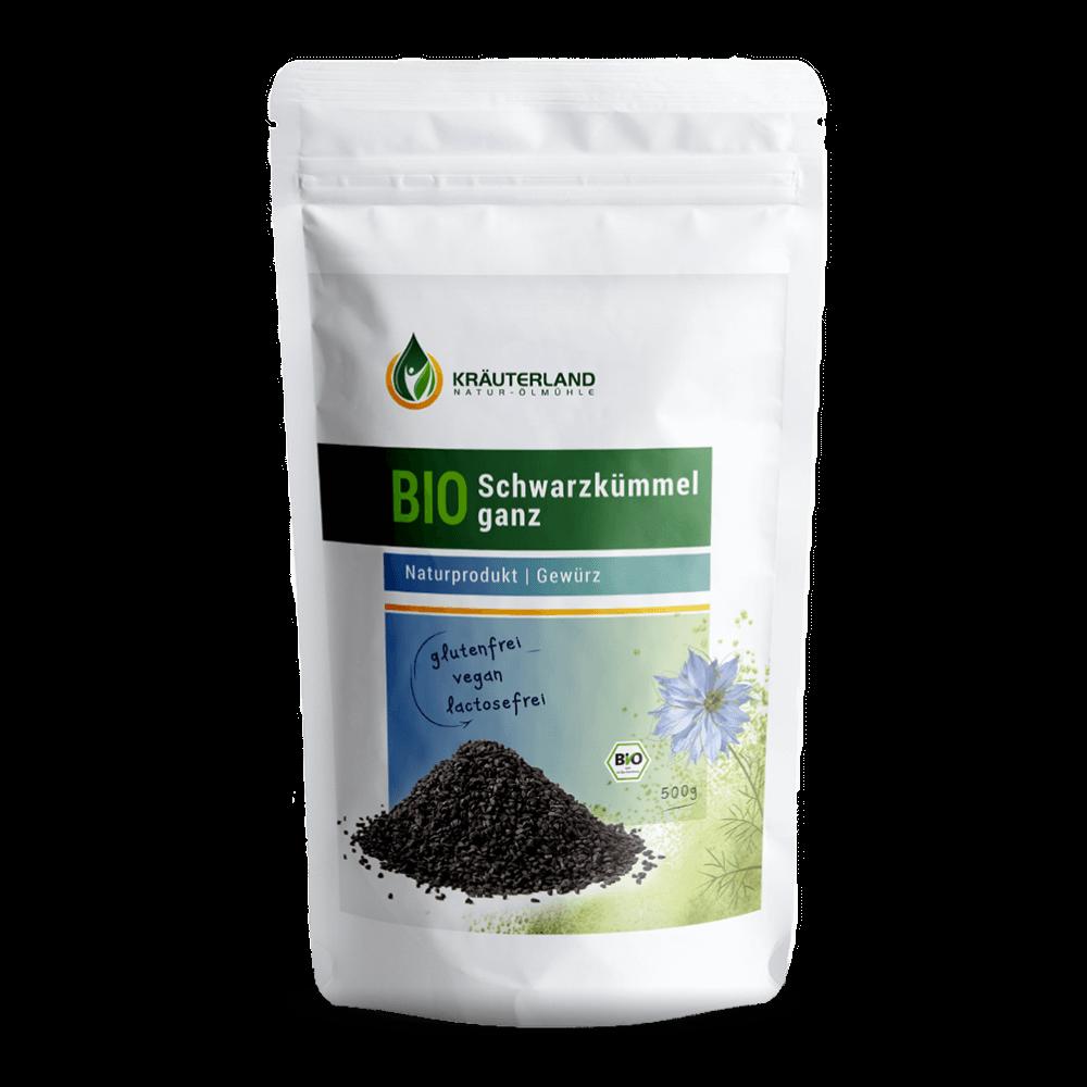 BIO semienka čiernej rasce (500 g)